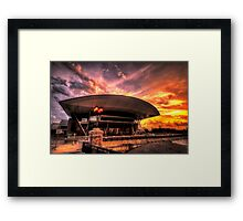 Boston Convention and Exhibition Center  Framed Print