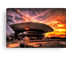 Boston Convention and Exhibition Center  Canvas Print