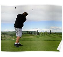 Golf Swing A Poster