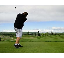 Golf Swing A Photographic Print
