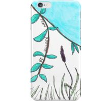 BE WILDER ness Sketch iPhone Case/Skin