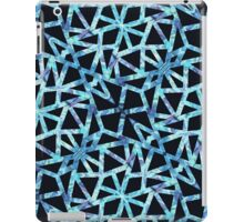Blue Triangle Pattern iPad Case/Skin