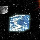 Cubes In Space by BluAlien