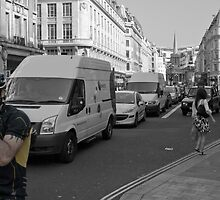 Regents Street, 8.30am by AjayP