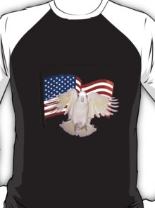 "Daphne ducorps ""Happy Independence Day!"" T-Shirt"