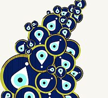 Evileye Burst by SuburbanBirdDesigns By Kanika Mathur