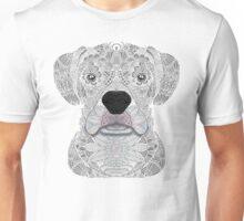 White Boxer Unisex T-Shirt