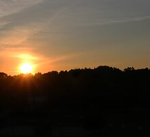 Founders Day Sunset by jillianndollars