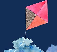 Kite Up  by SuburbanBirdDesigns By Kanika Mathur