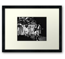 Stanley Clarke and Ray Gomez Framed Print