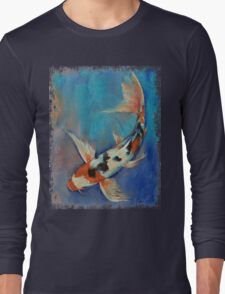 Sanke Butterfly Koi Long Sleeve T-Shirt