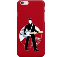 Jack The Axe-pander - Jack White III (Modern White Stripes Edition) iPhone Case/Skin