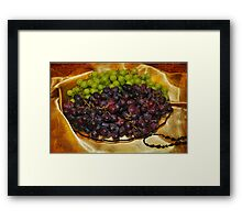 Grape, Grape Joy Framed Print