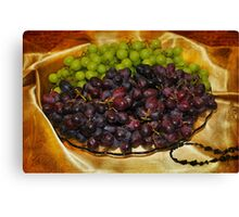 Grape, Grape Joy Canvas Print
