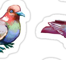 Pigeon Collection Sticker