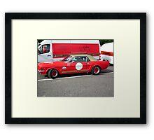 Lets go racing Framed Print