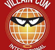 Villain-Con International by marslegarde