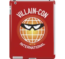 Villain-Con International iPad Case/Skin