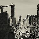 Ruins of Belchite by Esther  Moliné