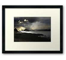 The Journey. A Destination and more than hoping. Framed Print