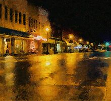 Historic Downtown by Jean Gregory  Evans