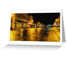 Historic Downtown Greeting Card