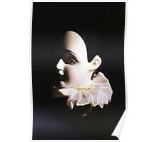 Renaissance doll head Poster