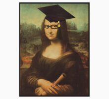 Mona Lisa Graduate with Glasses Kids Clothes