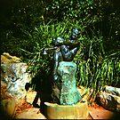 Pan in the Botanic Gardens by mewalsh