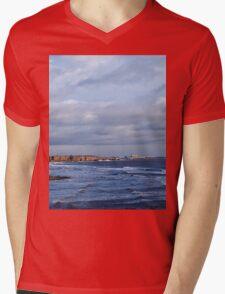 Northumbrian seascape Mens V-Neck T-Shirt