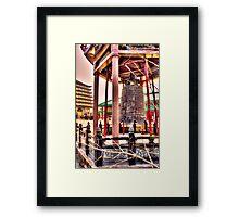 Cham Shan Temple Framed Print