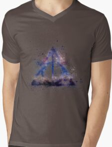 Space Hallows Mens V-Neck T-Shirt