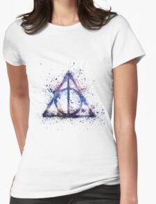 Space Hallows Womens Fitted T-Shirt