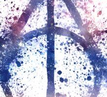Space Hallows Sticker