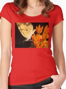 Hearts On The Wing Women's Fitted Scoop T-Shirt