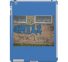 Every Day is A Good Day iPad Case/Skin