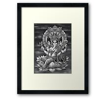 Ganesha the Great Framed Print
