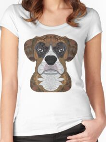 Boxer Women's Fitted Scoop T-Shirt