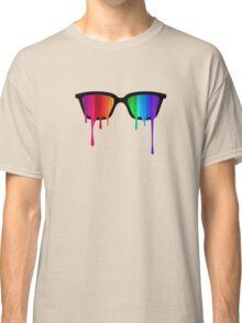 Love Wins! Rainbow - Spectrum (Pride) / Hipster Nerd Glasses Classic T-Shirt