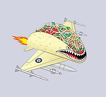 Taco Fighter Jet by 319heads