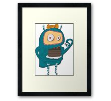 Cakes... cakes for monsters!  Framed Print
