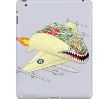 Taco Fighter Jet iPad Case/Skin