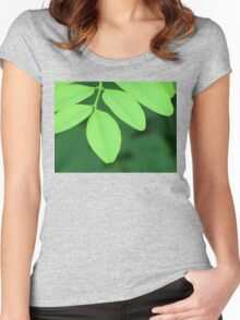 Pleasantly Green Women's Fitted Scoop T-Shirt