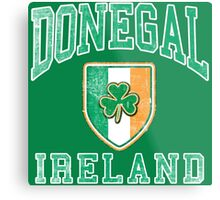 Donegal, Ireland with Shamrock Metal Print