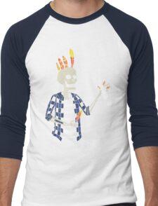 The Hair Master Men's Baseball ¾ T-Shirt