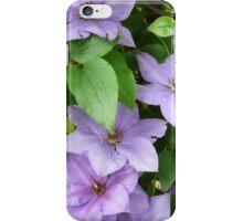 Purple Clematis iPhone Case/Skin