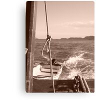Boat Ride Canvas Print