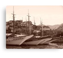 The Harbour Canvas Print