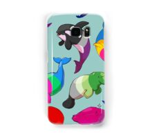 Sexuality Whales (And Aromanatee) Pattern Samsung Galaxy Case/Skin