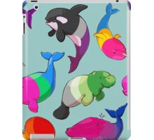 Sexuality Whales (And Aromanatee) Pattern iPad Case/Skin
